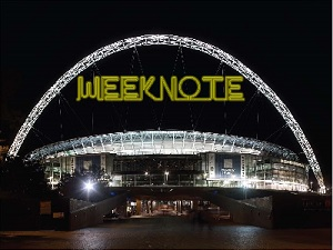 Weeknote wembley