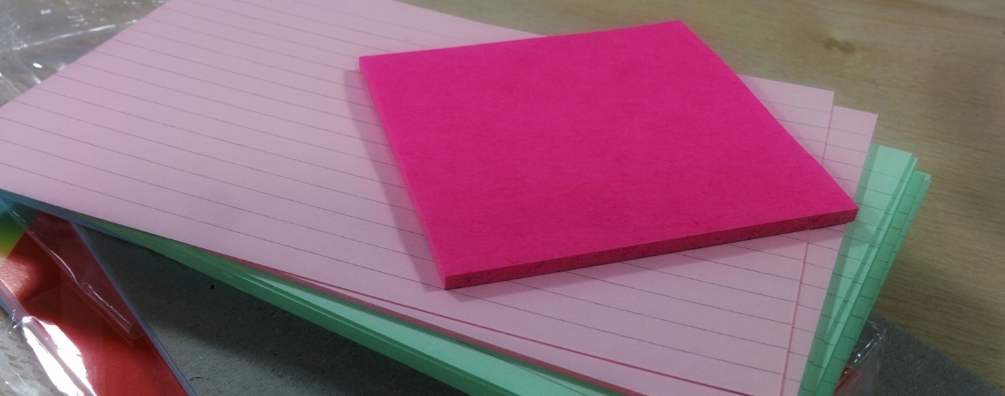 The triumph of the PostIts